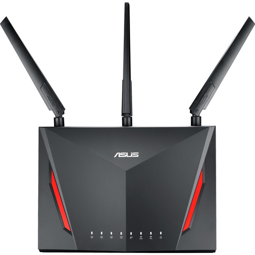 ASUS, AC2900 Wireless Dual-Band Gigabit Gaming Router, RT-AC86U