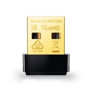 TP-Link, 150Mbps Wireless N Nano USB Adapter, TL-WN725N