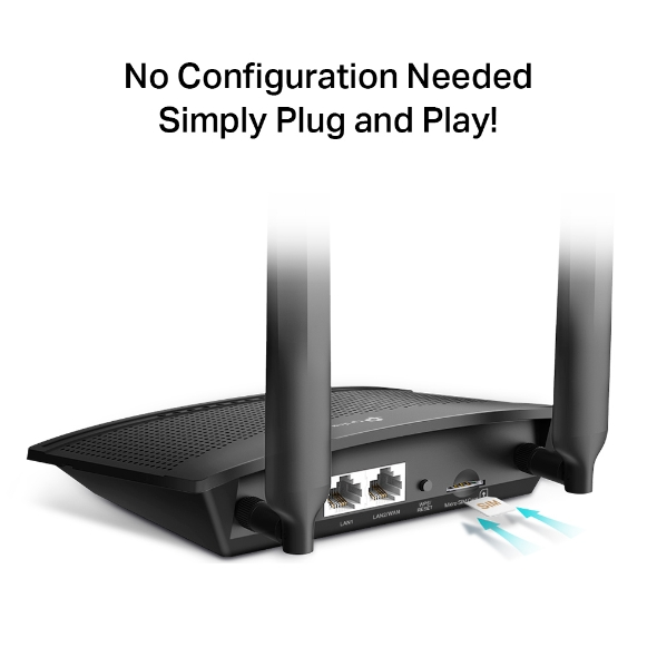 TL-MR100 300 Mbps Wireless N 4G LTE Router